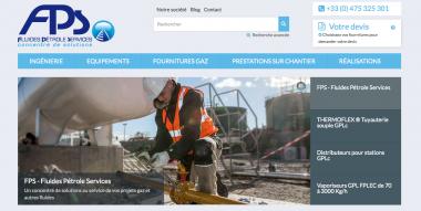 Image de la page d'accueil de fps-solutions.com