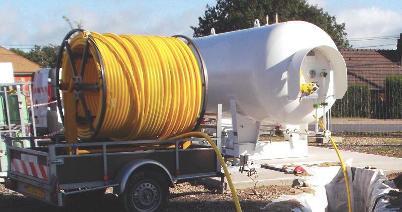 FP FLEX tuyau GPL souple en rouleau de 400 mètres